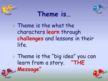 Theme Lesson