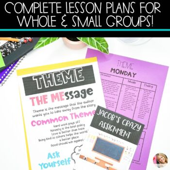 Theme Lesson Plans with Activities