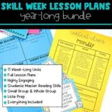 Skill Week Lesson Plans BUNDLE