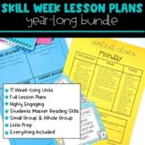 Skill Week Lesson Plans BUNDLE