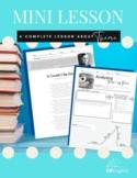 Theme Mini Lesson: Slides, Cross Genre Passages, and Assessment, DIGITAL & PRINT