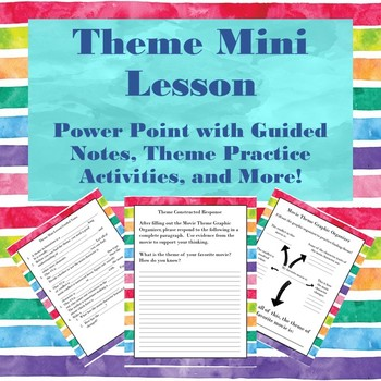 Theme Mini Lesson with Activities