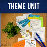 Theme TRESmart™ Mini-Unit with PowerPoint, Pixanotes, Word Wall & More!