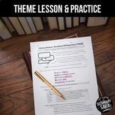 Theme Lesson & Quiz – Apply to ANY Novel, Short Story, or Movie
