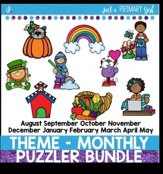 Theme Monthly - Puzzler Bundle - PRE SALE