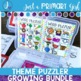 Year Round- Bundle {Magnetic Letter Centers} Monthly Theme