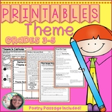 Theme Printables, Theme Worksheets,  (Theme, Central Messa