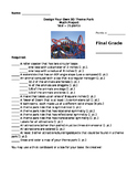 Theme Park Math Project Rubric