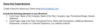 Theme Park Multimedia Business/Marketing Entrepreneurship Project