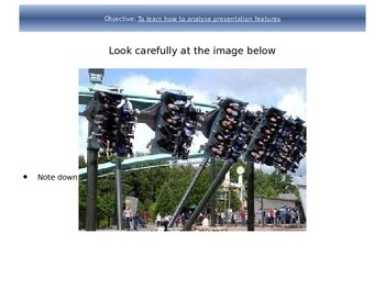 Theme Parks Leaflets - Analyzing Language