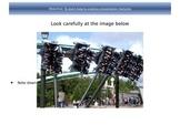 Theme Parks Leaflets - Analyzing Language