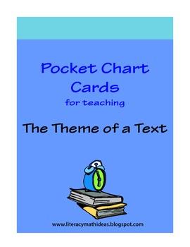 Theme Pocket Chart Cards