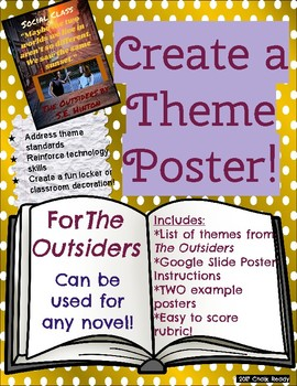 Theme Poster Project- The Outsiders