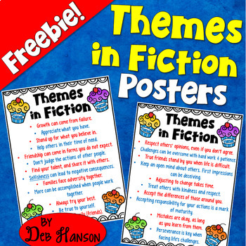 Themes in Fiction Posters {FREEBIE!}