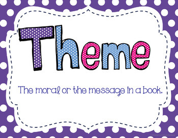 Theme Posters by Christine's Crafty Creations | Teachers ...