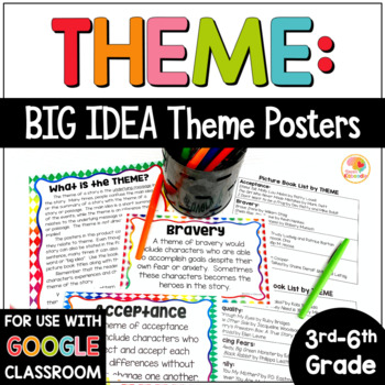 Theme Posters and Book List - Big Idea Themes