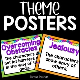 Common Themes in Literature Posters