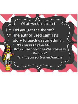 Theme Power Point and Activity for 4RL2