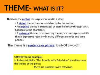 Theme PowerPoint- Interactive