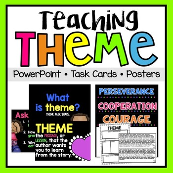 Theme PowerPoint & Task Cards