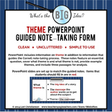 Theme PowerPoint and Guided Notes