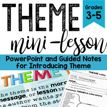 Theme PowerPoint {with Guided Notes}
