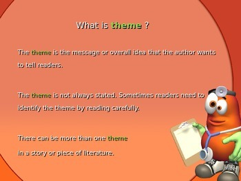 Theme Powerpoint : Dr. Potato Figures Out Themes