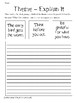 Theme Practice Packet - Think Before You Act