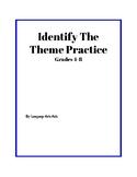 Identify The Theme Worksheet