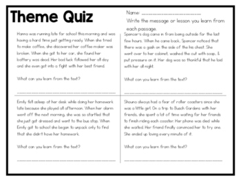 Theme Quiz