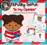 "Theme - Read Across America/ Opinion Writing - ""Your Favorite Book"""
