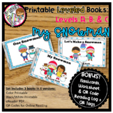 Leveled Readers for Guided Reading - Winter Snowmen Levels A, B, C