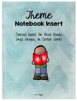 Theme Reading Journal Inserts & Organizers