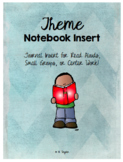 Theme Reading Journal Inserts & Organizers