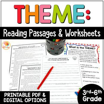 Theme Printable Reading Passages