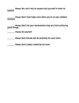Theme Reading Passages Theme