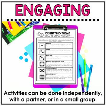 Theme Reading Response Activities
