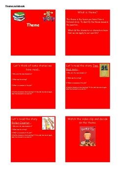 Theme SMART NOTEBOOK Activities