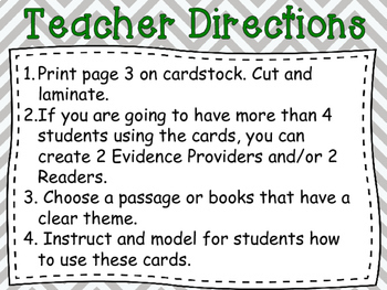 Theme Seeker Collaborative Discussion Cards