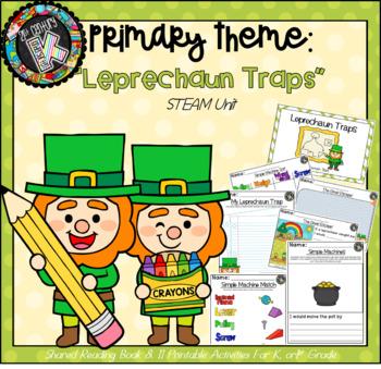 "Primary STEM Theme - St. Pat's/Simple Machines/Engineering - ""Leprechaun Traps"""