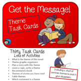 Theme - Story Elements Task Cards