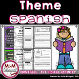 Theme *TEMA* - Spanish Reading