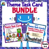 Theme Task Card Bundle: Folk and Fairy Tales, Legends, Sci-Fi, and More Fiction!