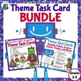 Theme Task Card Bundle: Folk and Fairy Tales, Legends, Sci