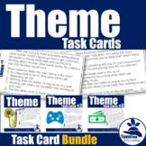Theme Task Card Bundle Grades 3-5 (STAAR)