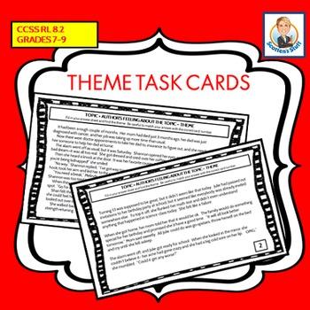 Theme Task Cards