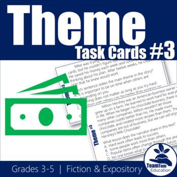 Theme Task Cards 3 (STAAR)
