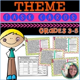 Theme Task Cards Teaching Theme 4th Grade Theme Task Cards Reading