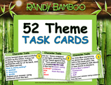 Theme Task Cards and Test