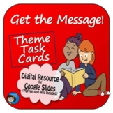 Theme Task Cards Digital Resource